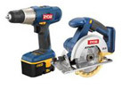 Recertified: RYOBI 18V Cordless Drill and Saw Combo Kit