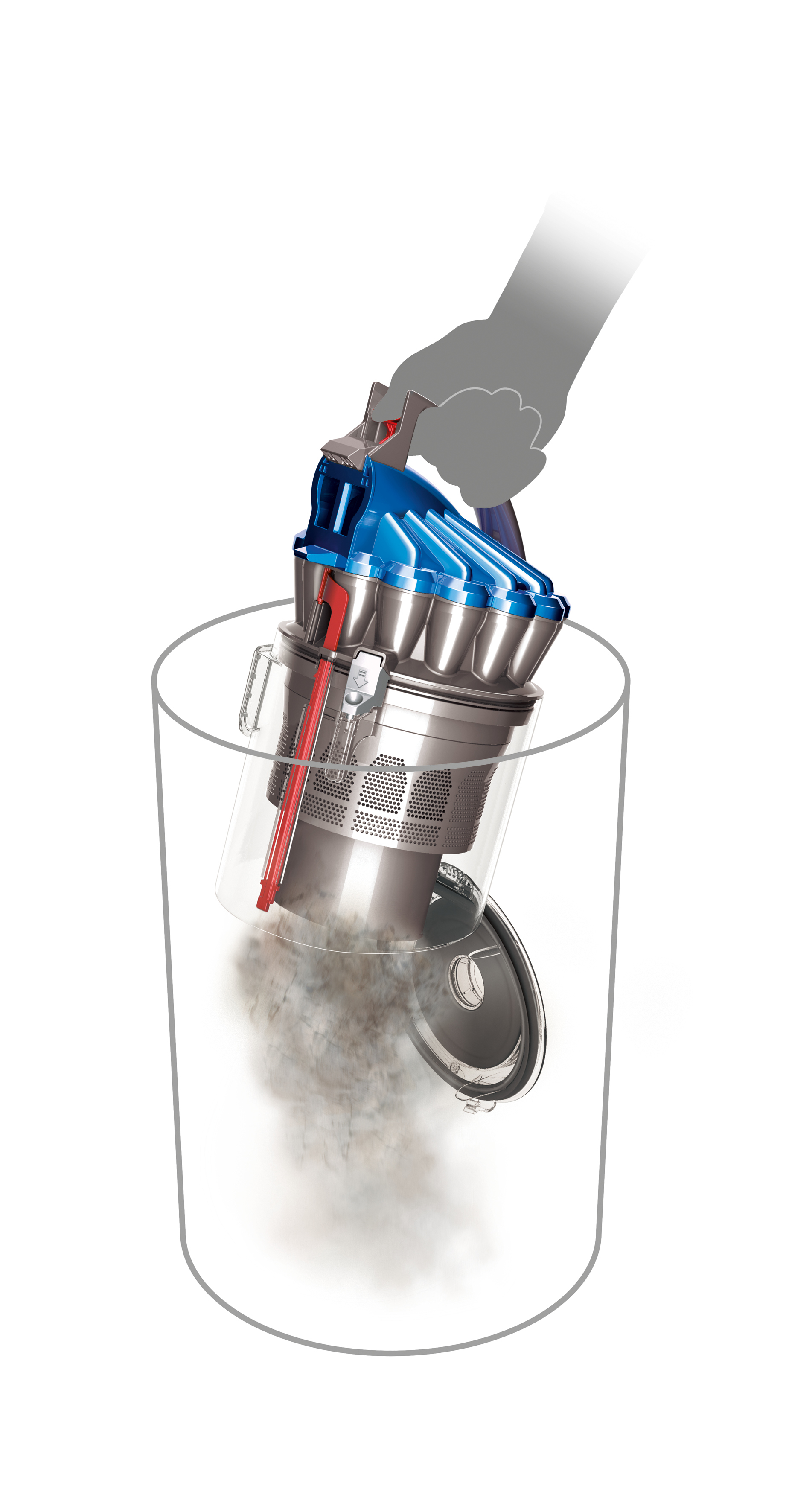 Refurbished dyson dc23 turbinehead canister vacuum for Dyson dc23 motor stopped working