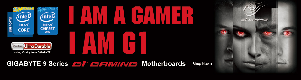 G1 Gaming Motherboards