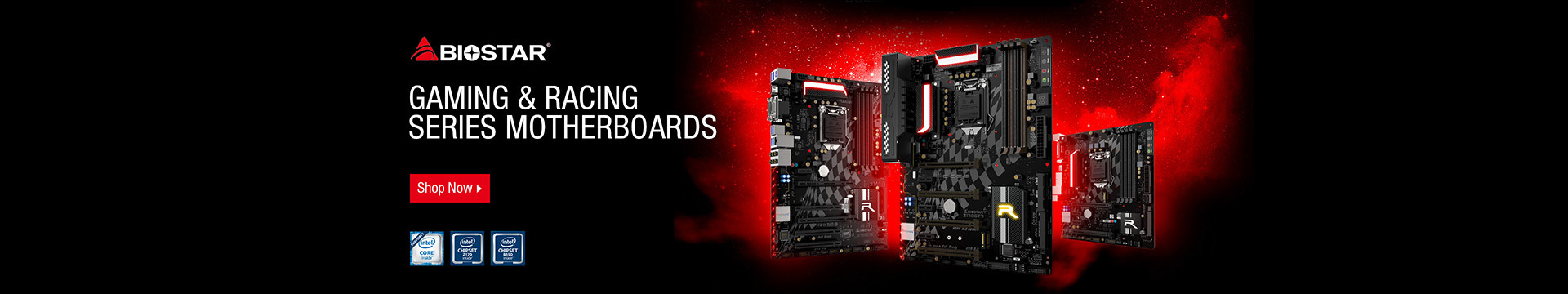 Gaming & Racing series motherboards