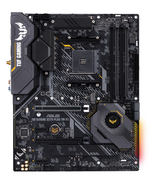 ASUS AM4 TUF Gaming X570-Plus (Wi-Fi) ATX Motherboard with