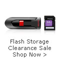 Flash Storage Clearance Sale