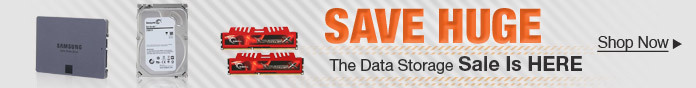 The Data Storage Sale is Here