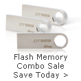 Flash memory combo sale