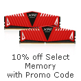 10% off Select Memory with promo code