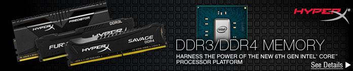DDR3/DDR4 MEMORY