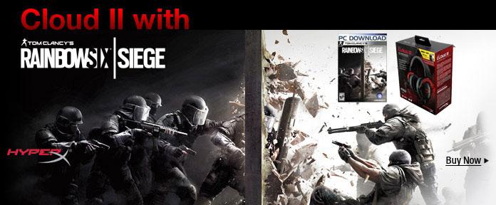 Cloud II gaming headset w/ FREE game code