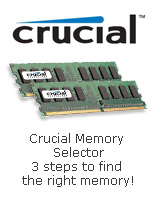 Crucial memory selector 3 steps to find the right memory