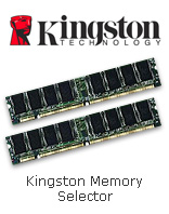 Kingston Memory Selector