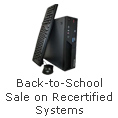 Back-to-School Sale on Recertified Systems