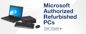 Microsoft Authorized Refurbished PCs