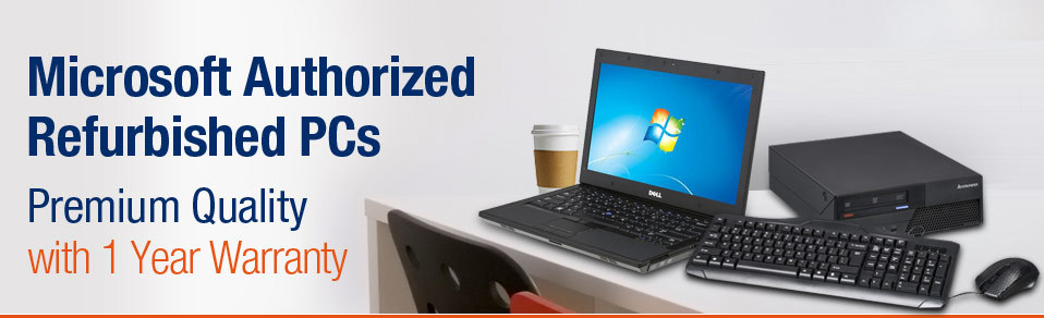 Newegg com - Microsoft Authorized Refurbished PCs