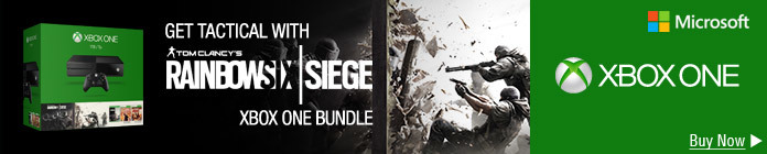 Rainbow Six Siege Xbox One Bundle