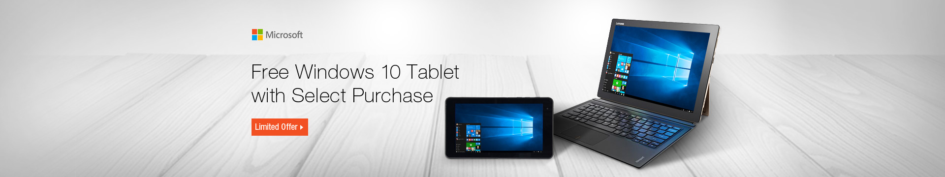 Free Windows 10 Tablet