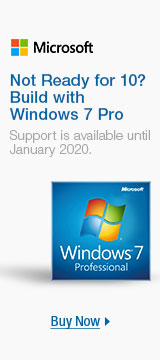 Not ready for 10? Build with windows 7 Pro