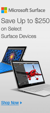 Save up to $250 on select surface devices