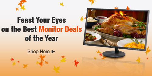 Feast Your Eyes on the Best Monitor Deals of the Year