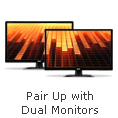 Pair Up with Dual Monitors