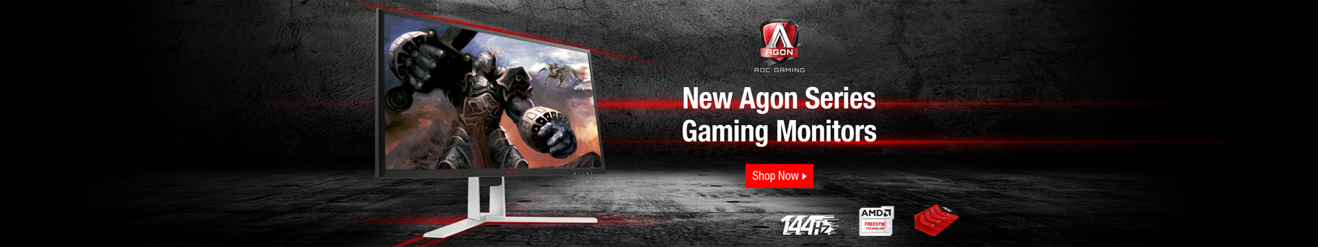 New Agon Series Gaming Monitors