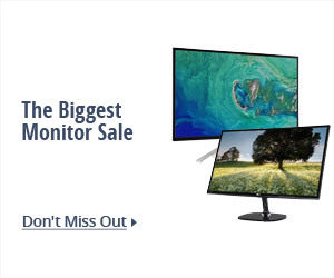 The Biggest Monitor SALE