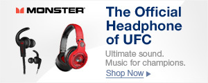 The official headphone of UFC