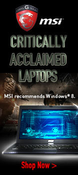 MSI Critically Acclaimed Laptops