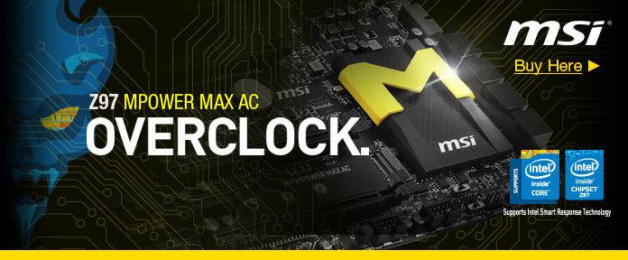 MSI Z97 Overclock