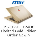 MSI GS60 Ghost LIMITED GOLD EDITION
