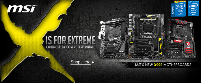 MSI X IS FOR EXTREME
