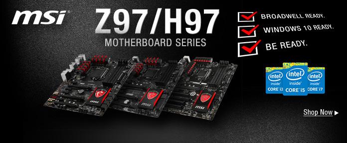 Z97_H97 Motherboard Series