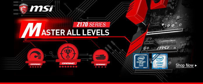 MSI Master All Levels Z170 Series