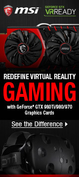 MSI — REDEFINE VIRTUAL REALITY
