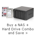 Buy a NAS + Hard Drive Combo and Save