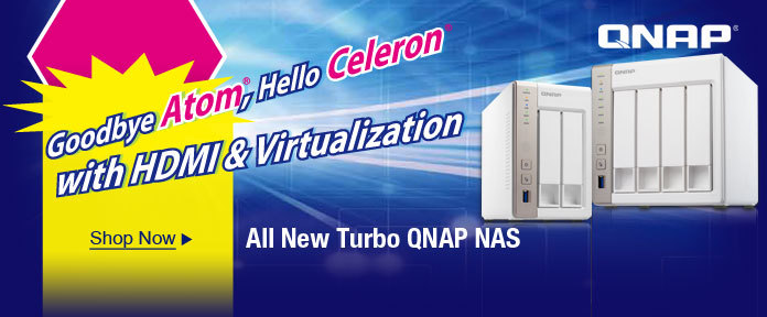 All New Turbo QNAP NAS