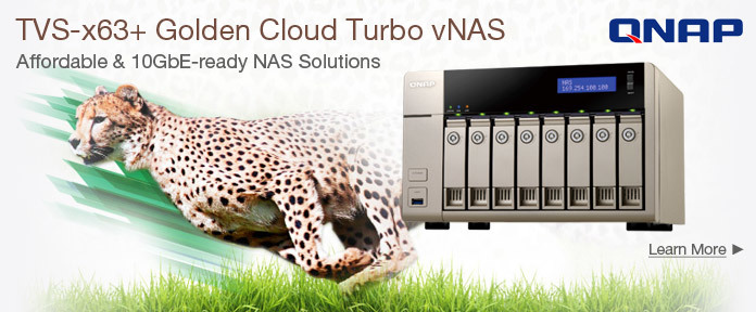 TVS-x63+ Golden Cloud Turbo vNAS