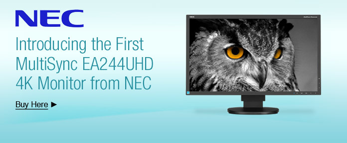 Introducing the First MultiSync EA244UHD 4K Monitor