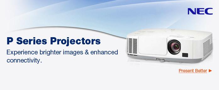 P Series Projectors