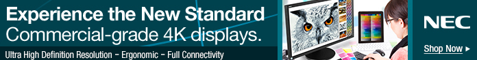 Experience the New Standard Commercial - grade 4K displays