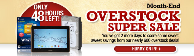 ONLY 48 HOURS LEFT! 