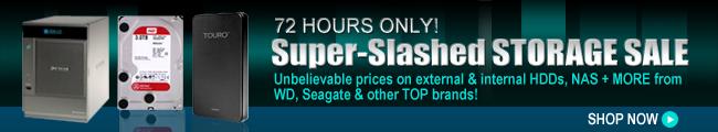 72 HOURS ONLY! Super-Slashed STORAGE SALE. SHOP NOW.