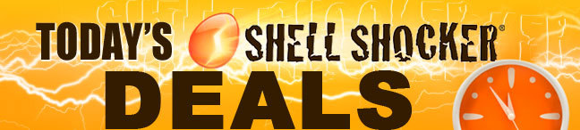 TODAY'S SHELL SHOCKER DEALS