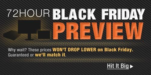 72Hour Black Friday Preview