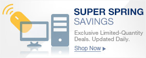 Super Spring Savings
