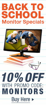 Back to school Monitor Specials
