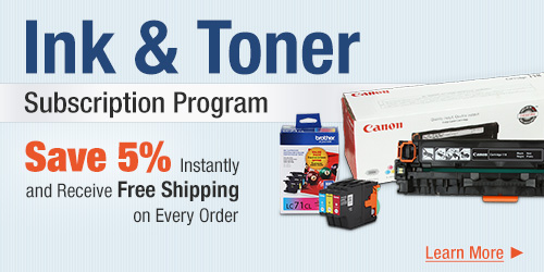 Ink & Toner subscription program