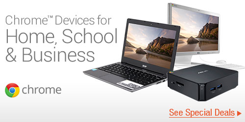Chrome Devices for Home, School & Business