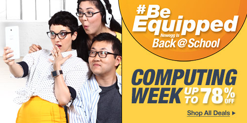 BeEquipped, Newegg Is Back at School