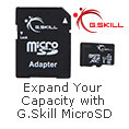 Expand Your Capacity with G.Skill Micro SD