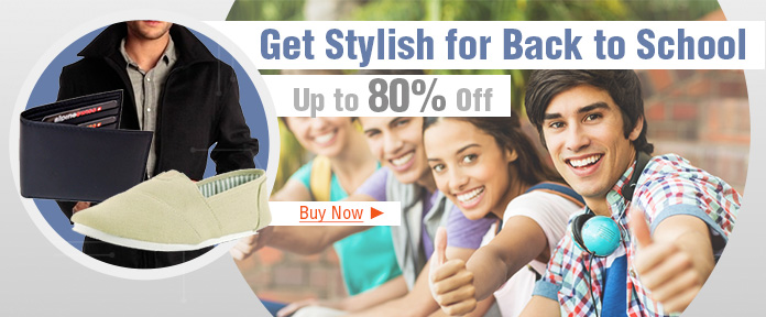 Get stylish for Back to School