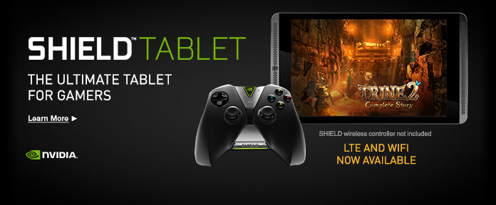 Shield Tablet - The Ultimate Tablet for Gamers